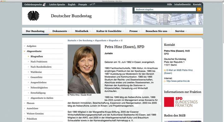 """Bundestagsseite: """"Ich hab doch hier Jura studiert"""""""