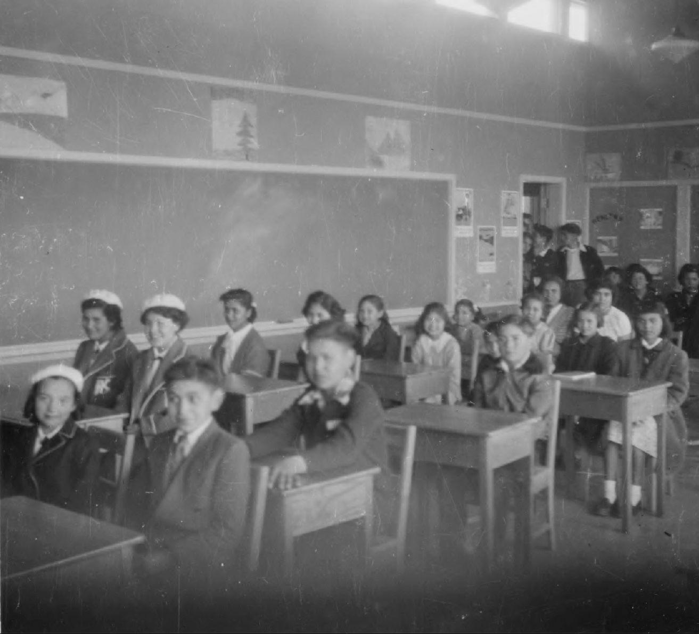 Schulklasse Kuper Island