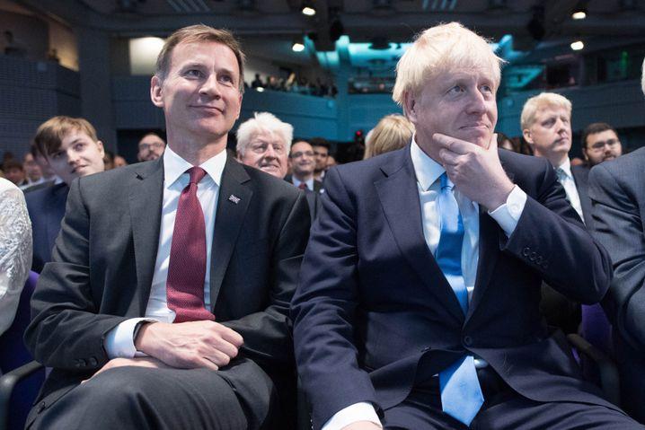 Jeremy Hunt und Boris Johnson: Die britischen Wähler hätten wohl anders entschieden