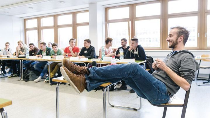 Vertretungsstunde: Promi-Alarm im Klassenzimmer