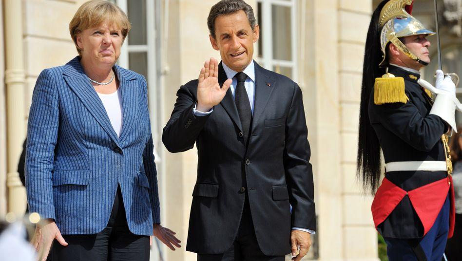 Angela Merkel und Nicolas Sarkozy: Wie geht es in der Euro-Zone weiter?