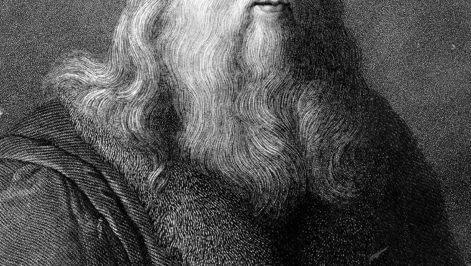 Selbstbildnis von da Vinci