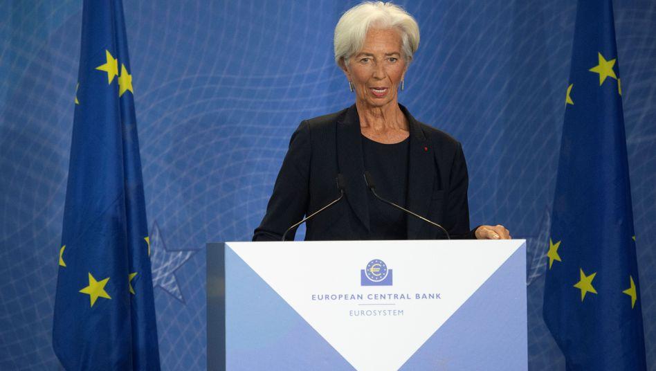 Christine Lagarde ist neue Chefin der Europäischen Zentralbank
