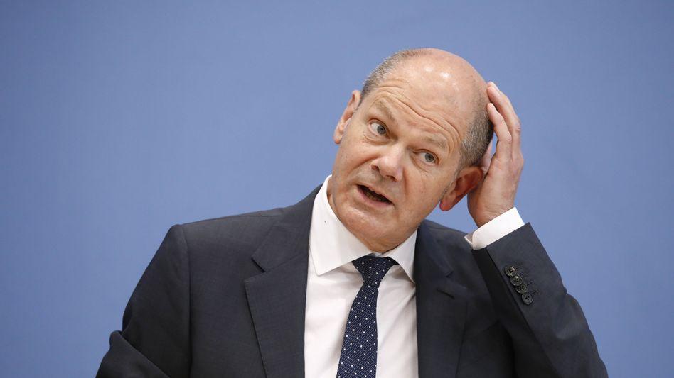 SPD-Kanzlerkandidat Olaf Scholz: Nicht gerade ein Bierzeltkracher