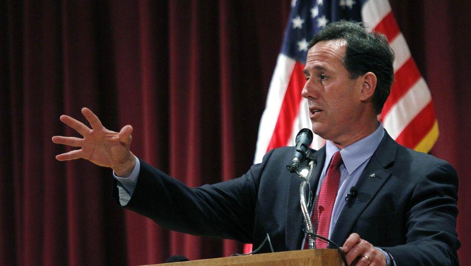 Republikaner Santorum: Auftrieb mit radikalen Ansichten