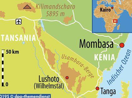 Im Nordosten Tansanias: Die Usambara-Berge bergen viele endemische Arten