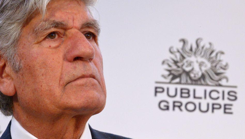 Publicis-Verwaltungsratschef Maurice Levy (2015)