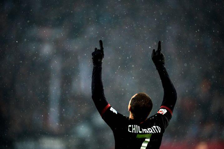 Leverkusens Chicharito, zweifacher Torschütze gegen Frankfurt