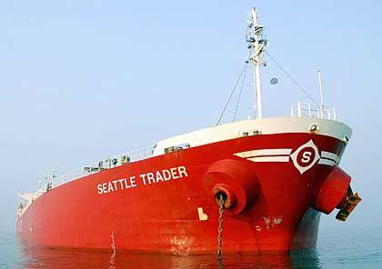 """""""Seattle Trader"""" im Hafen von Guangxi: Mit 39.000 Registertonnen gegen einen Fischkutter?"""