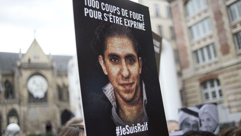 Demonstration für die Freilassung Badawis: Keine Begnadigung