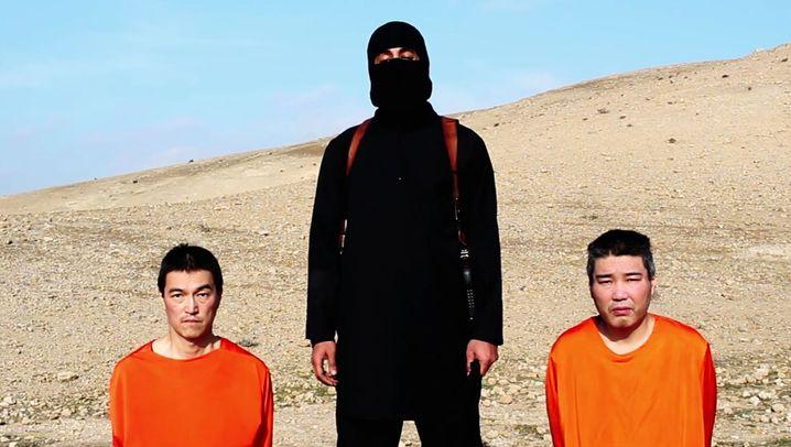 IS-Geiselnehmer fordert in Video Lösegeld (Januar 2015)