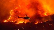 Hubschrauber retten mehr als 200 Camper aus Feuerzone