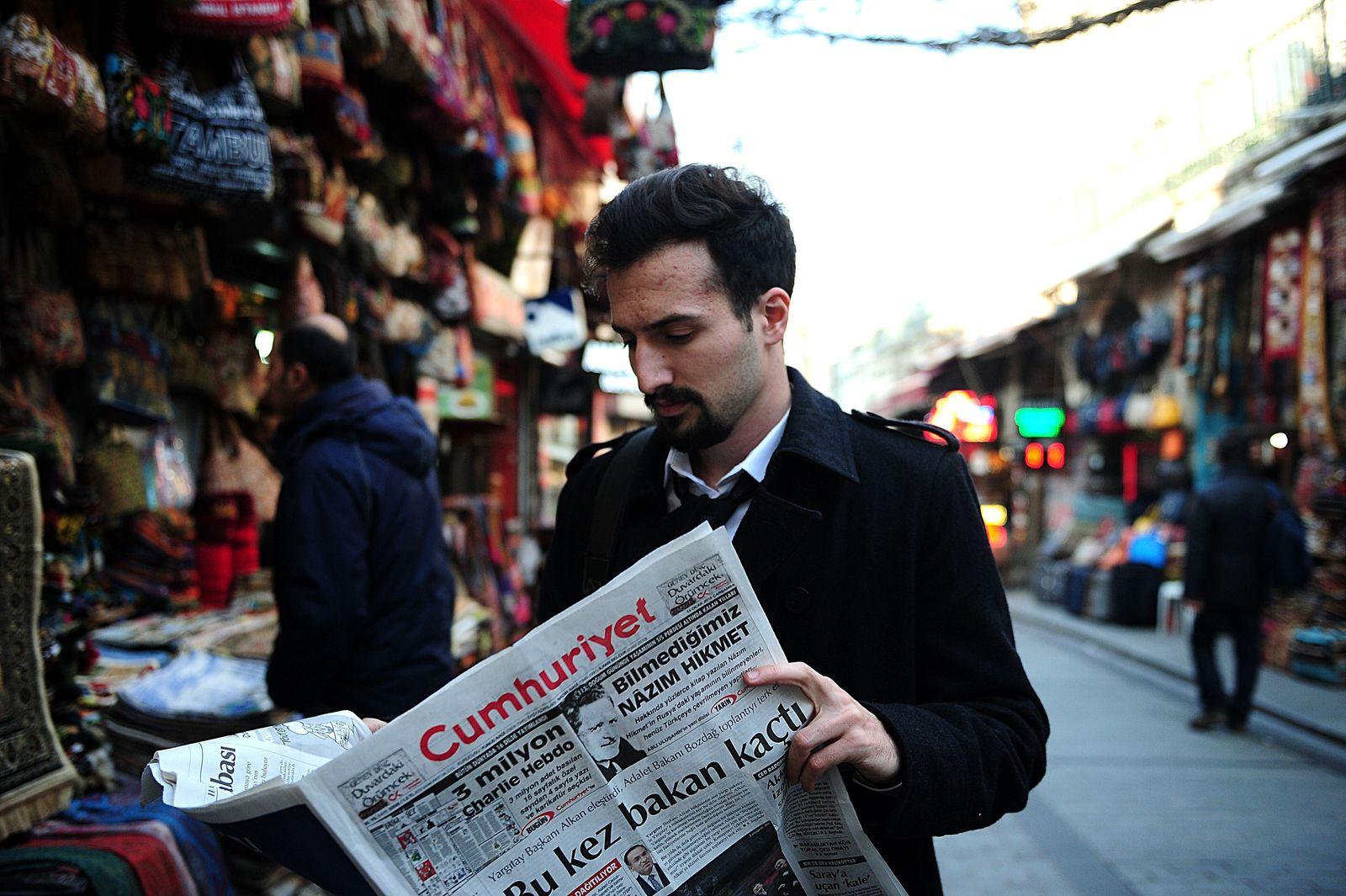 Türkei/ Zeitungen/ Charlie Hebdo