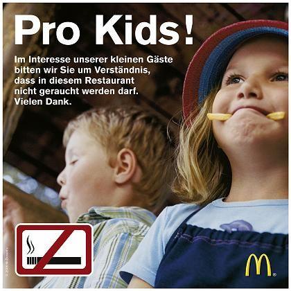 PR-Kampagne von McDonald's: Kinderschutz hat Priorität