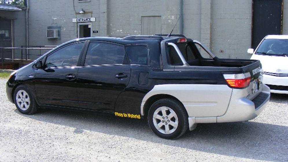 Toyota-Prius-Pickup: Wie sieht der denn aus?