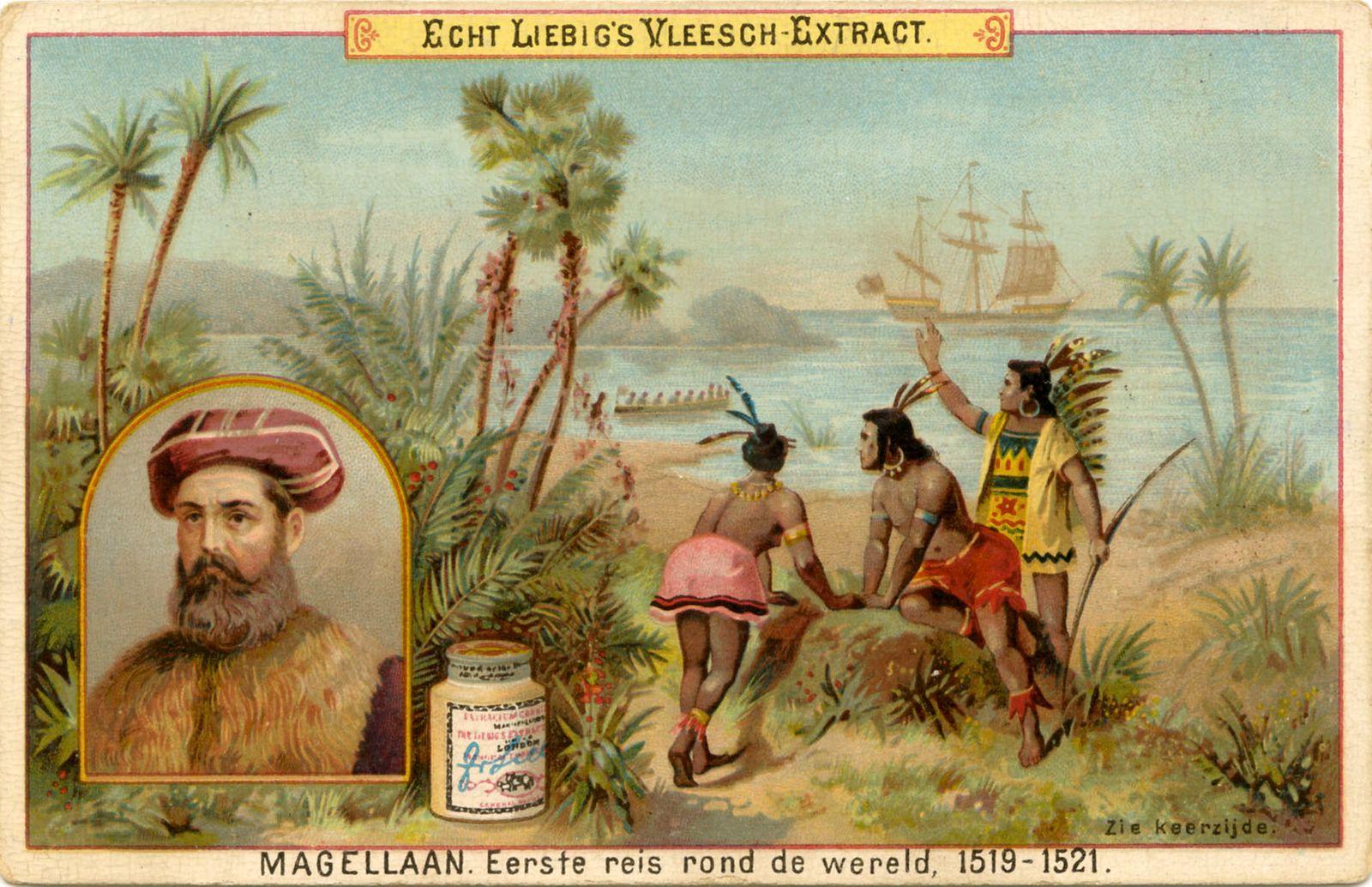 Magellan 's first voyage around the world