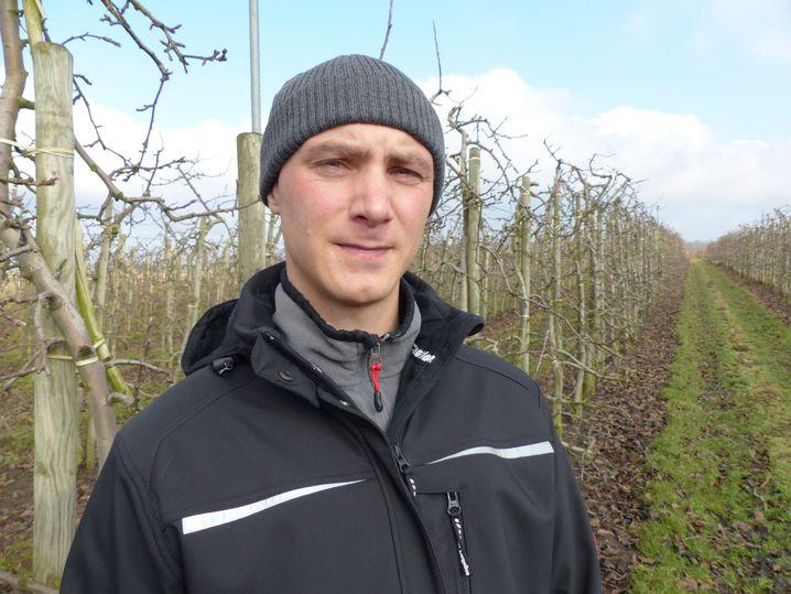 Joachim Meyer, Obstbauer aus Wischhafen