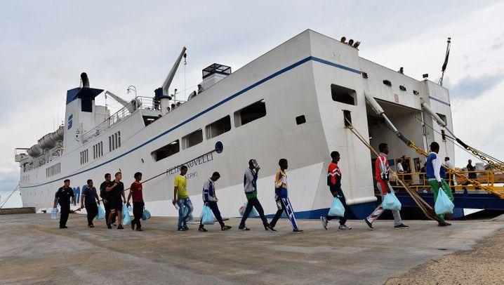 Gesunkenes Boot: Flüchtlingsdrama vor Lampedusa