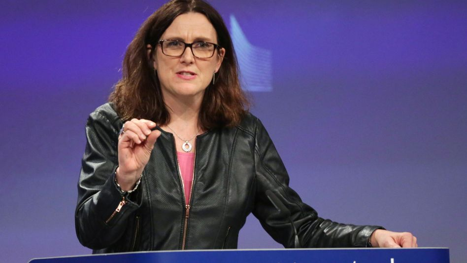 Im Clinch mit der Trump-Regierung: Handelskommissarin Malmström