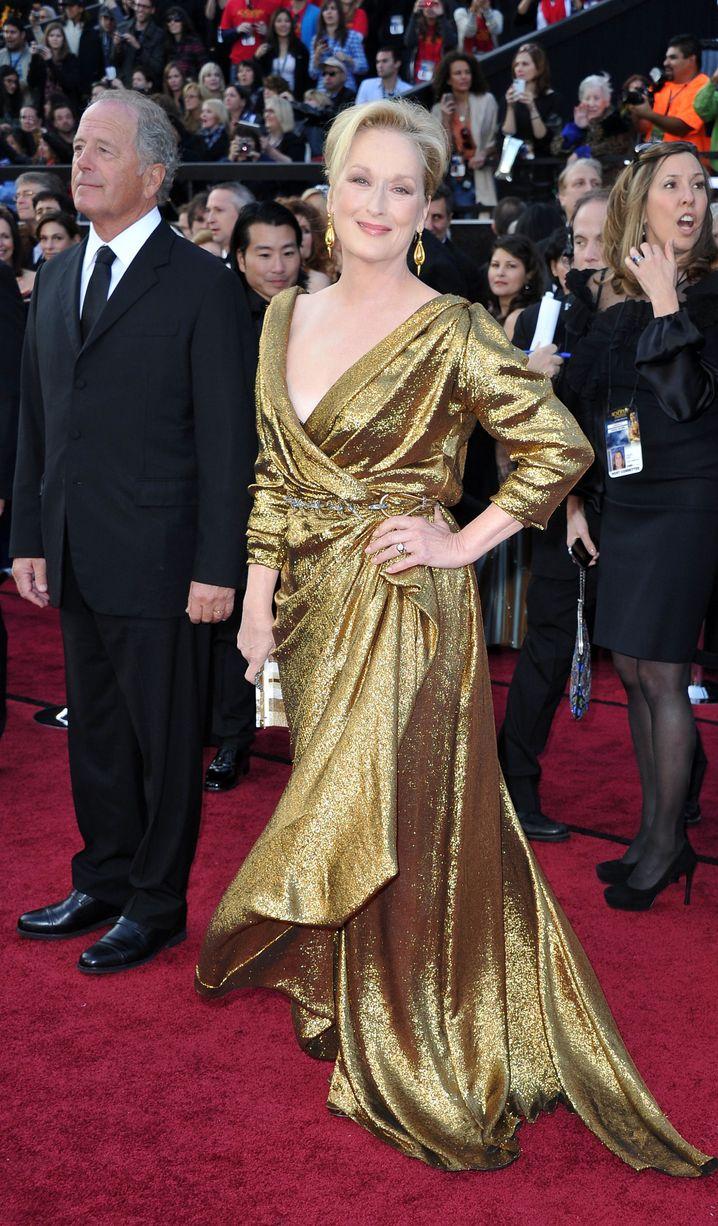 Meryl Streep (M.): Hat das Gold gleich mitgebracht