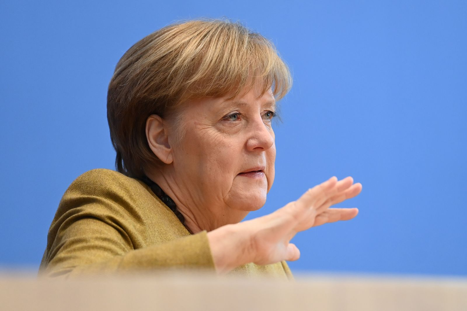 Merkel Speaks About Current Pandemic Situation