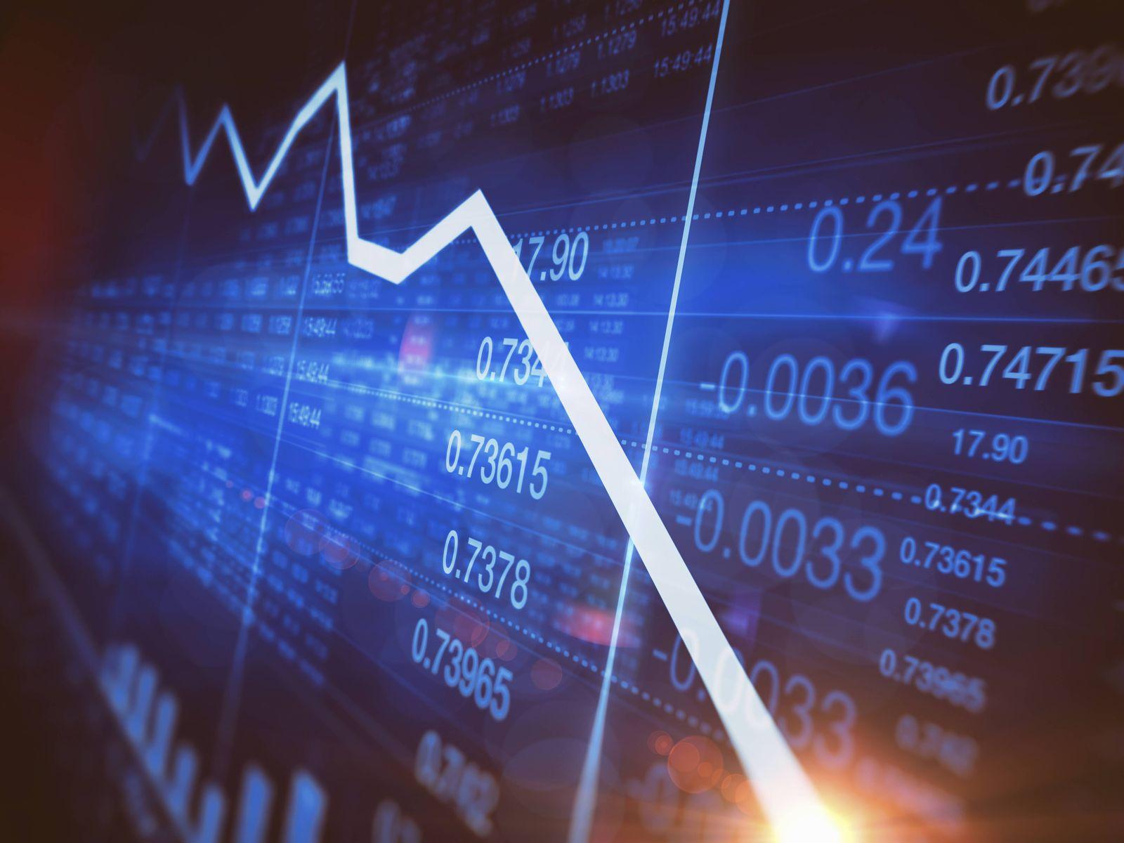 EINMALIGE VERWENDUNG Börsenkurs / Symbolbild