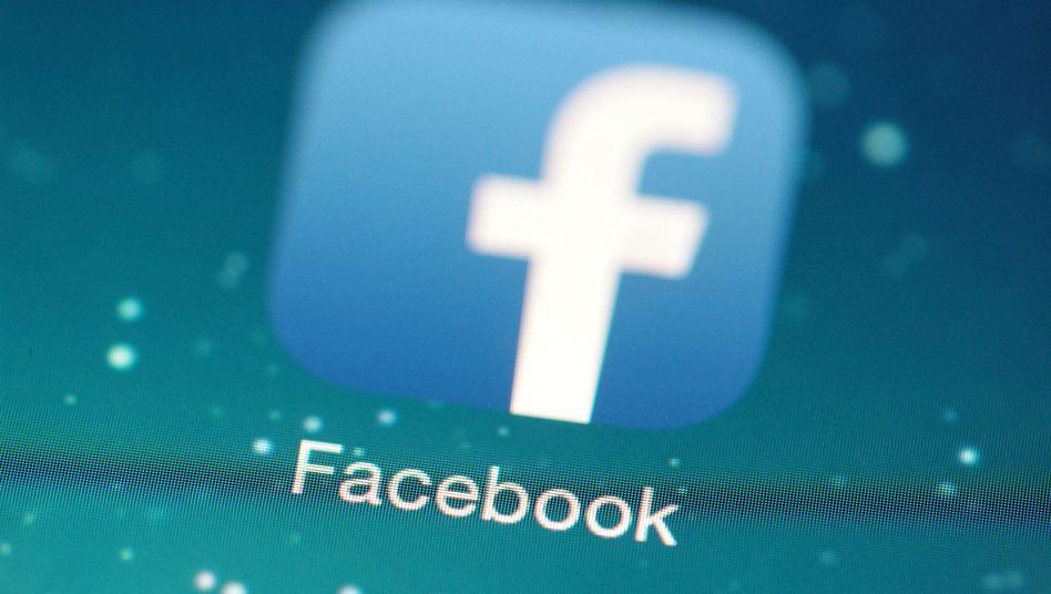Logo der Facebook-App: Datenschützer kritisieren Nutzungsbedingungen