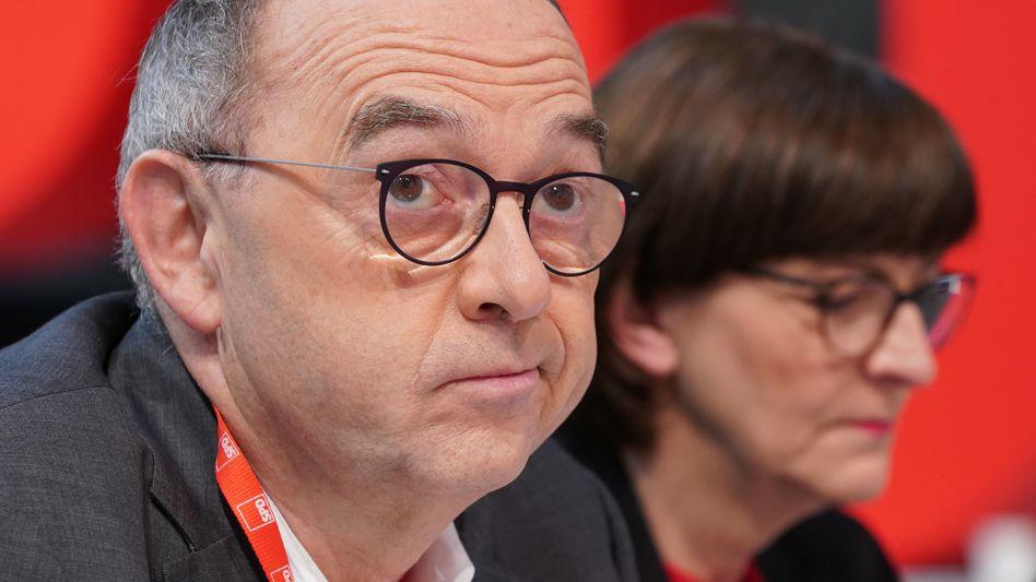 """SPD-Vorsitzende Walter-Borjans und Esken: """"Gesundes Bauchgefühl"""""""