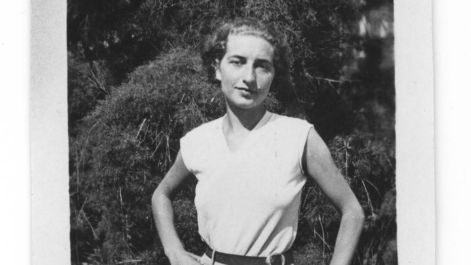Helen Wolff als junge Frau 1931