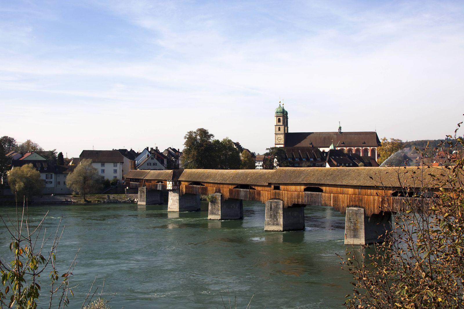 Bad Säckingen/ Holzbrücke