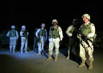 "US-Soldaten während der Festnahme Saddams: ""Happy Christmas"""