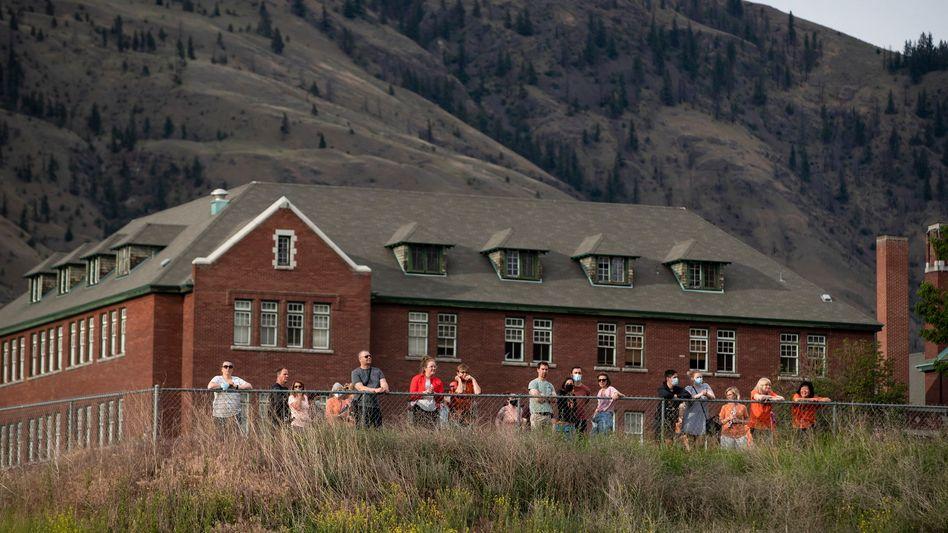 Kamloops Residential School in British Columbia: »Eine Tragödie, die hier in unserem Land existierte«