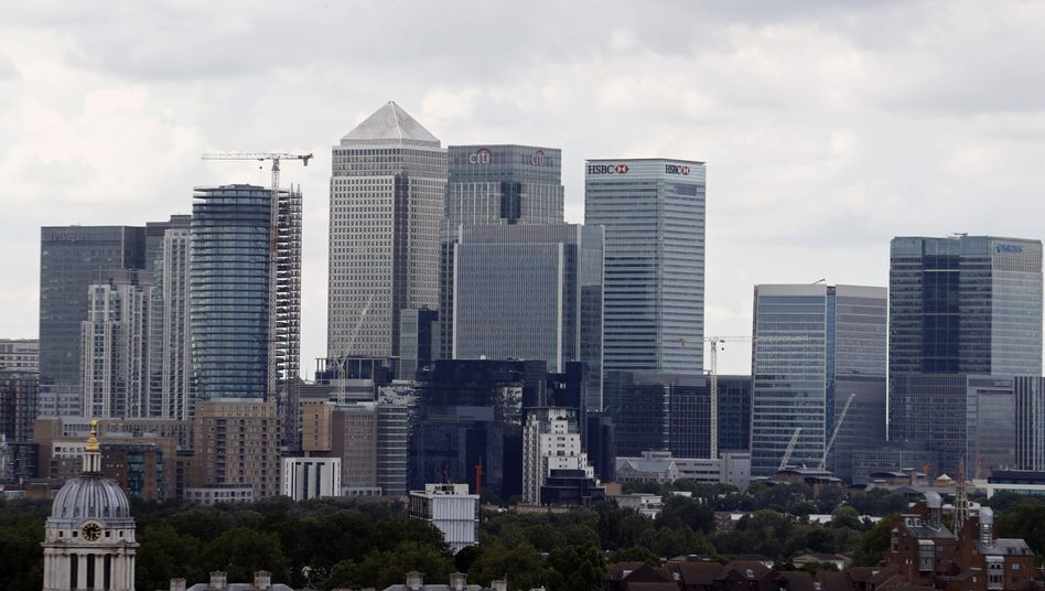Citigroup-Zentrale in Londoner Finanzdistrikt