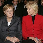 Erika Steinbach, right, has been pushing Angela Merkel for a museum in Berlin dedicated to the plight of Germans expelled from their homes at the end of WWII. On Wednesday, she got her wish.