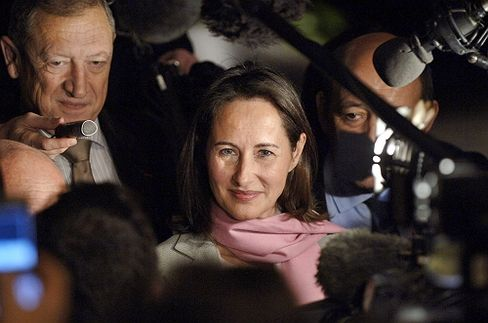 Ségolène Royal may be riding high in the polls, but French politics are still a man's world.
