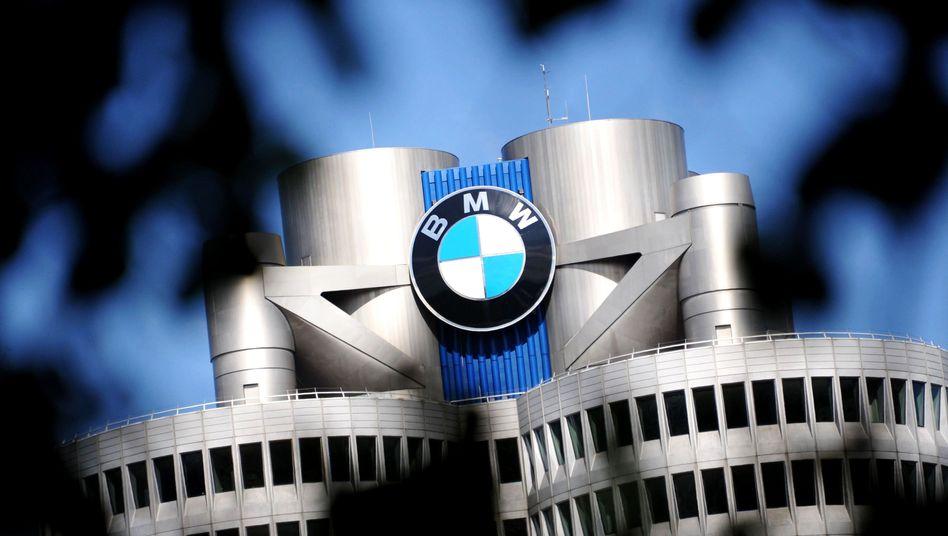 Verwaltungsgebäude von BMW in München