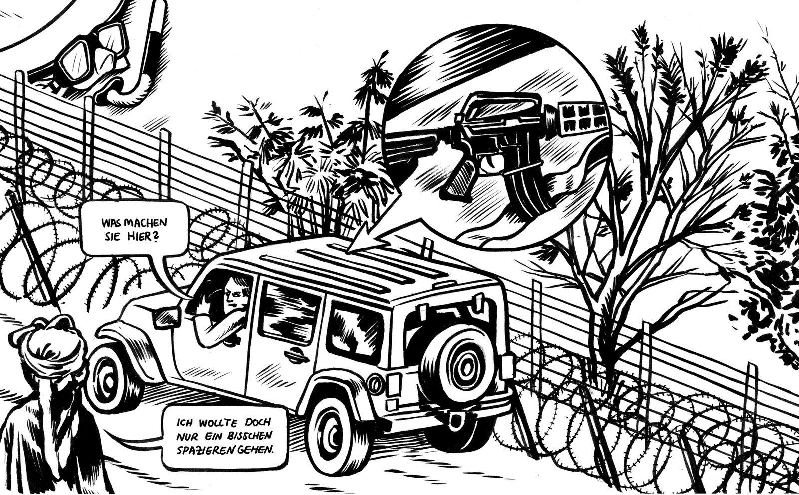 EINMALIGE VERWENDUNG UNI SPIEGEL 2/2016 Ferien im Krisengebiet / Westjordanland