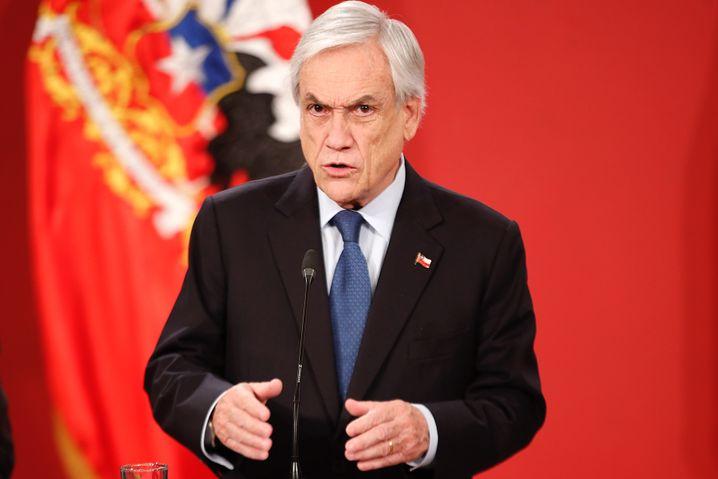 Präsident Piñera findet den Uno-Bericht zu harsch