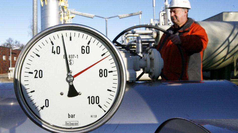 Erdgasspeicher Reitbrook bei Hamburg: Vorräte schon vor dem Winter knapp