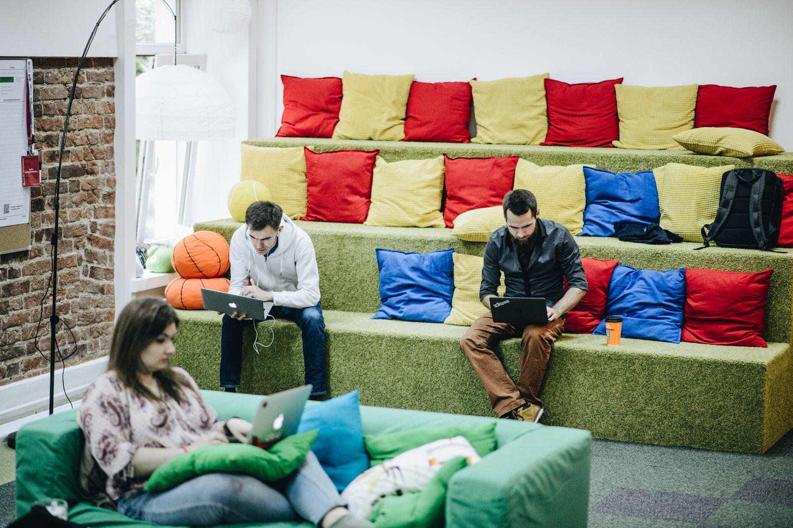 EINMALIGE VERWENDUNG Startup Skyeng Moskau