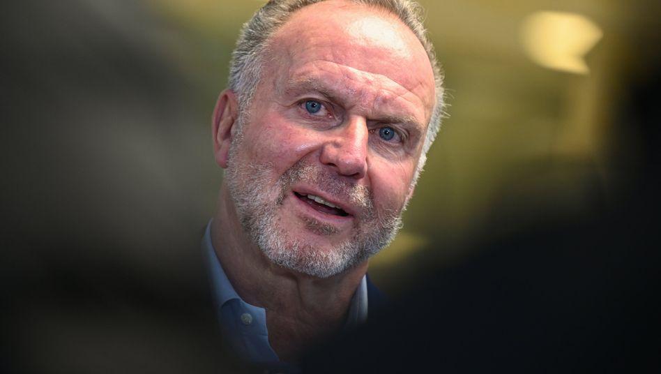 Bayerns Klubchef Karl-Heinz Rummenigge