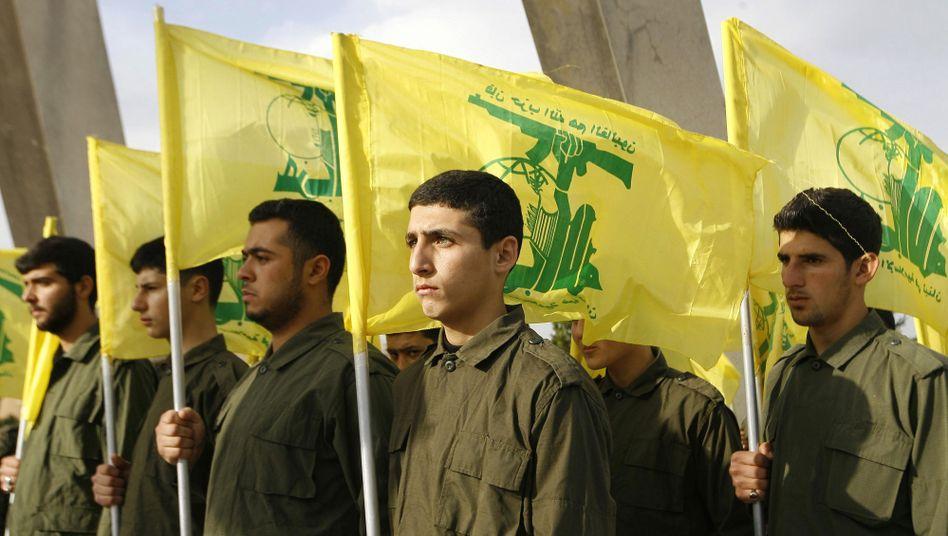 Kämpfer der radikalislamischen Hisbollah: Ein Essener Verein soll die Vereinigung unterstützt haben