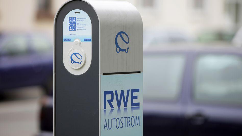 """Ladestation von RWE für Elektroautos: """"Wir haben das Tempo etwas gedrosselt"""""""
