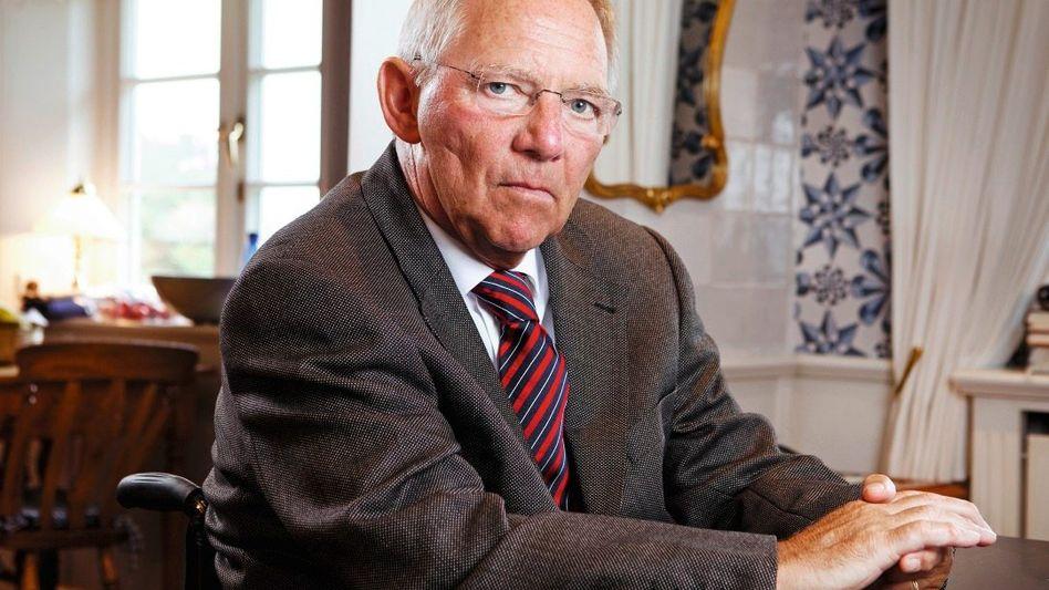 Minister Schäuble: »Ich hätte mir die Urlaubswochen auch ruhiger gewünscht«