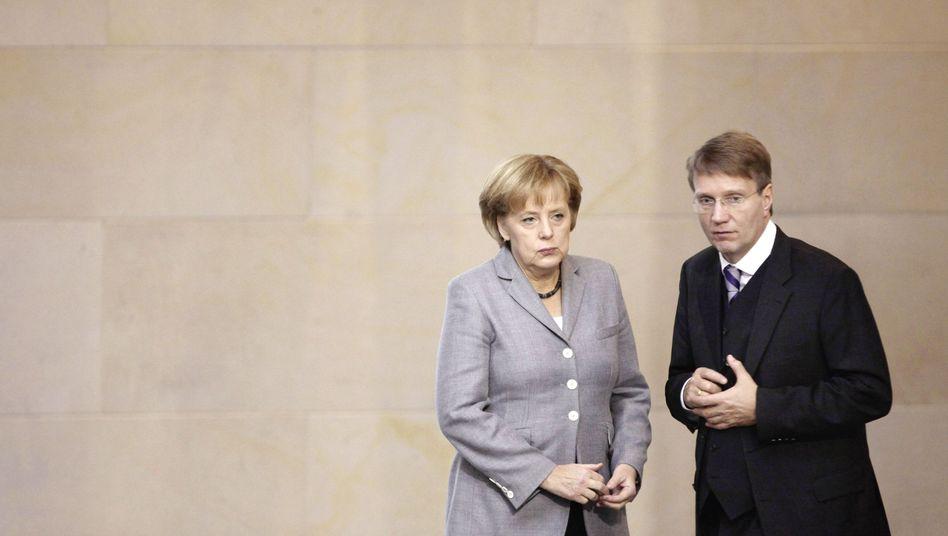 Kanzlerin Merkel, Pofalla: Es läuft nicht rund
