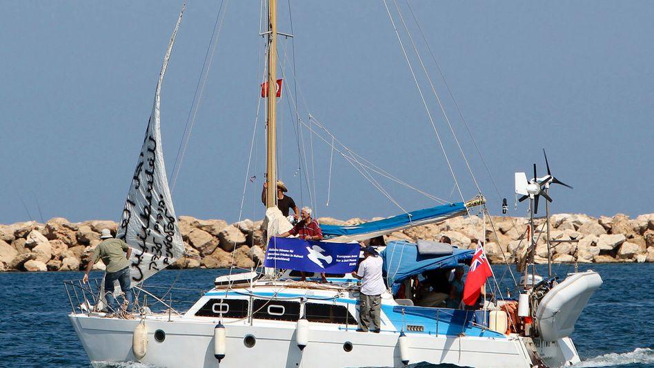 Vor Gaza-Streifen: Israel stoppt jüdisches Hilfsschiff für Palästinenser