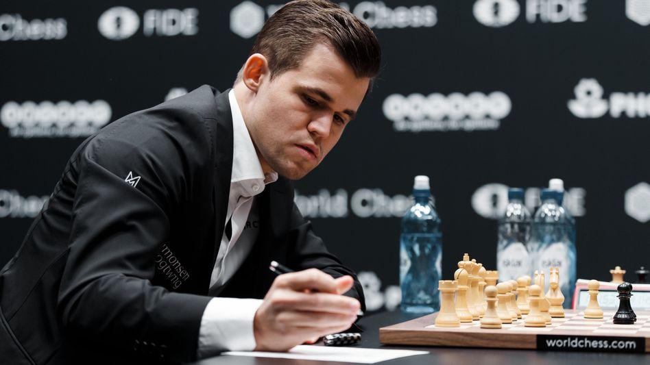 Magnus Carlsen (Foto vom 13. November)