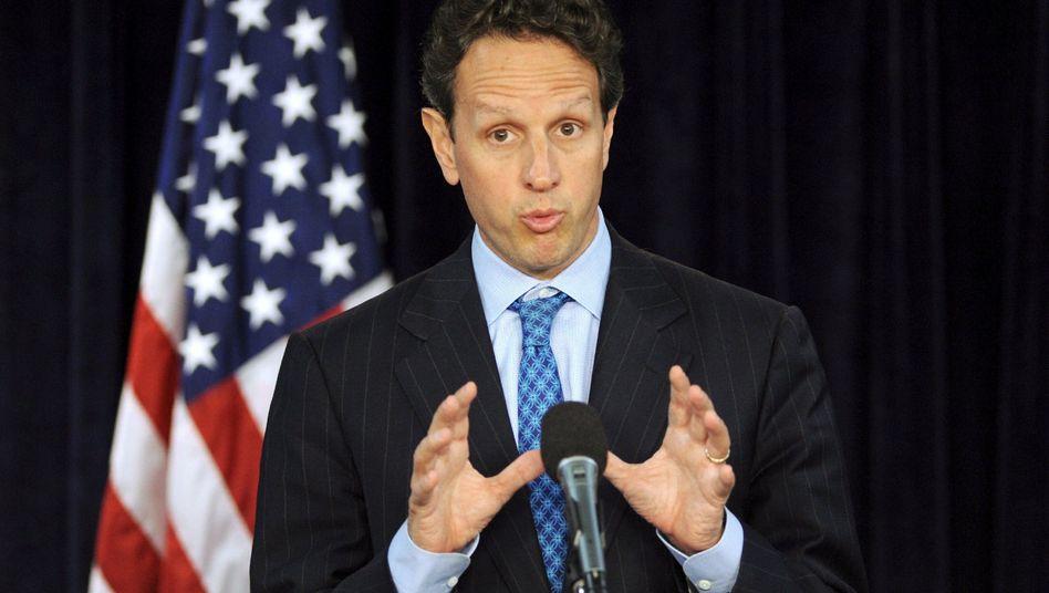 """Timothy Geithner: """"Katastrophale wirtschaftliche Folgen"""""""