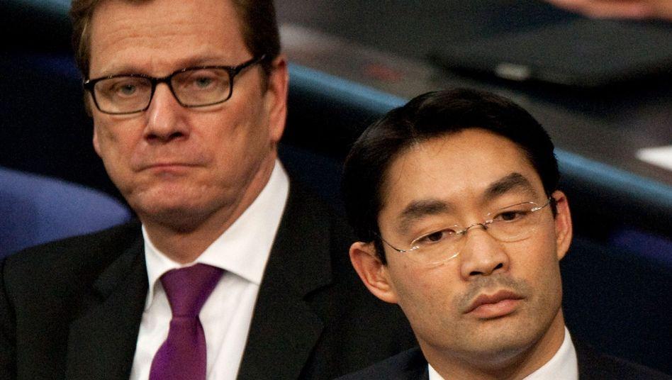 FDP-Politiker Westerwelle, Rösler: Das Vertrauen der Wähler in die Liberalen ist erschüttert