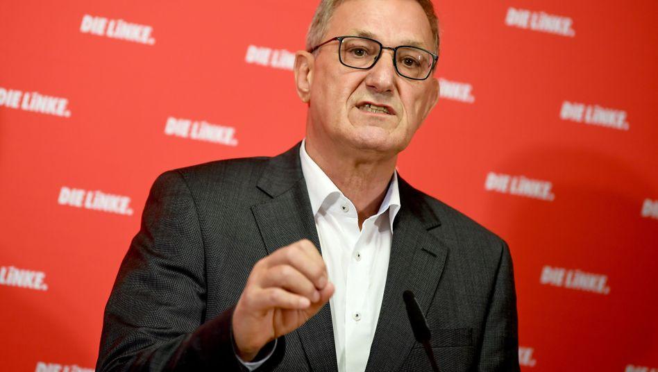 Linken-Chef Bernd Riexinger wirft dem Verkehrsministerium Versagen vor
